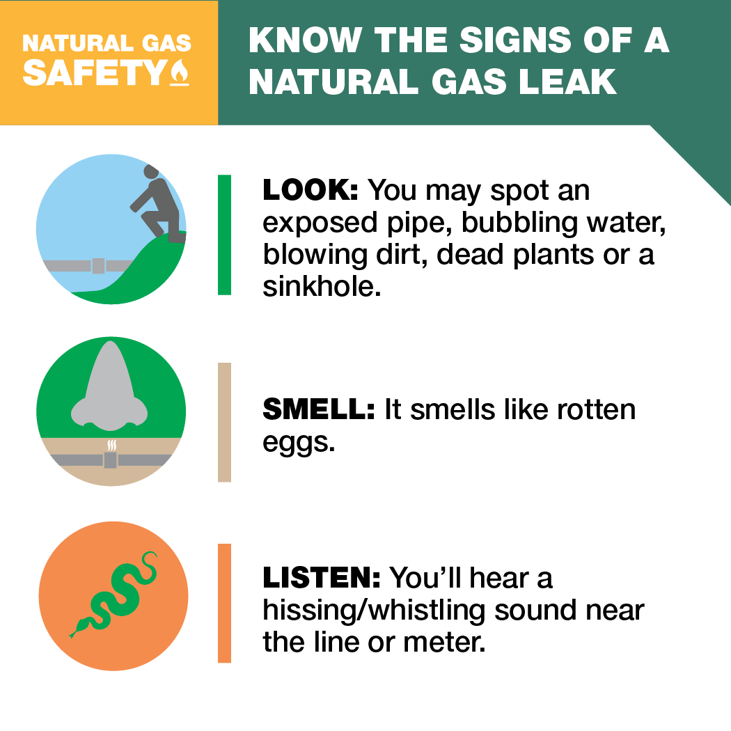 Natural Gas Leak Safety Tips